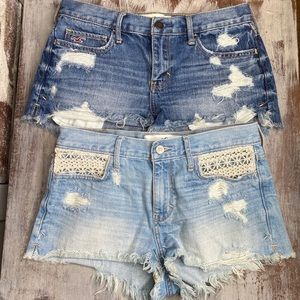 2 Hollister Jean Short Bundle 5